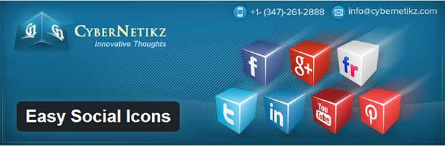 WordPress-Plugin-Easy-Social-Icons