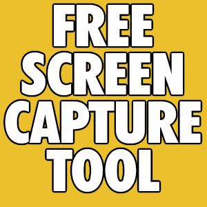 A Free Screen Capture Tool – Great Tip