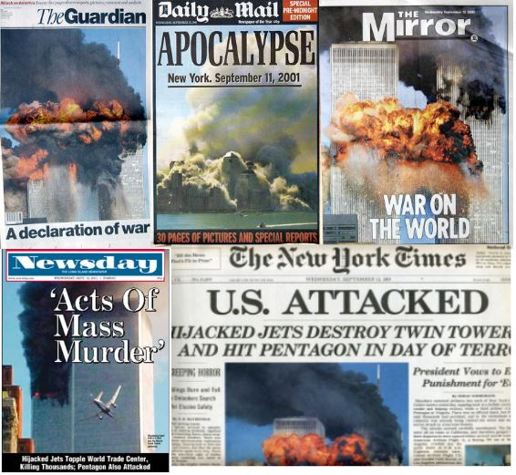 sept 11 newspapers
