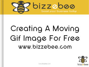 How To Create A Gif Image For Free. [Moving Picture: Video Tutorial]
