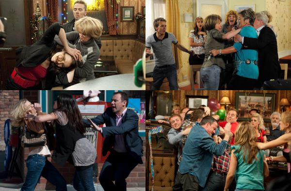coronation street fights